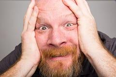 Close up man face Royalty Free Stock Photos