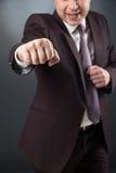 Close-up of man's fist boxing Stock Photos