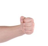 Close up of man's fist. Stock Image