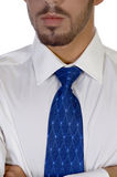 Close up of man's tie Royalty Free Stock Image