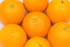 Close up of many oranges Royalty Free Stock Photography