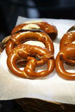 Close up many pretzel Royalty Free Stock Photography