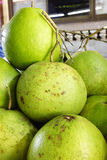 Close up many thai pomelo Royalty Free Stock Photo