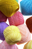 Close up many yarn ball Royalty Free Stock Image