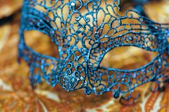 Close up of Mardi Gras or Carnival mask. Close up of Mardi Gras or Carnival mask royalty free stock image