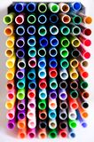 Close Up of Markers Royalty Free Stock Photos