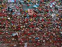 Close-up of The Market Theater Gum Wall Stock Photos