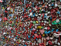 Close-up of The Market Theater Gum Wall Royalty Free Stock Photography