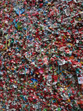 Close-up of The Market Theater Gum Wall Stock Images