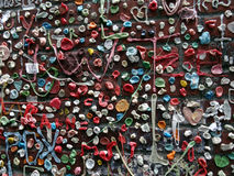 Close-up of The Market Theater Gum Wall Royalty Free Stock Photos