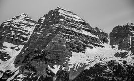 Close Up Maroon Bells June Royalty Free Stock Photos