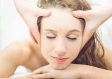 Close up massage Stock Photos