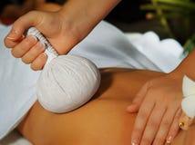 Close up massage Royalty Free Stock Photos