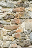 Close-up of massive stone wall Stock Images