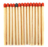 Close up of matches, one with a different color Stock Photography