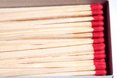 Close-up of matches Royalty Free Stock Photography