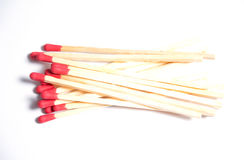 Close-up of matches Royalty Free Stock Photo