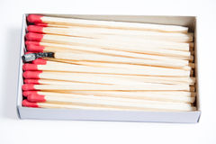 Close-up of matches Royalty Free Stock Images