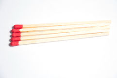 Close-up of matches Stock Photo