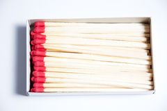 Close-up of matches Royalty Free Stock Image