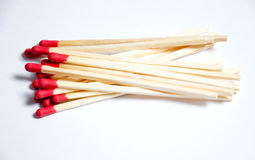 Close-up of matches Royalty Free Stock Photos