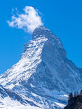 Close up Matterhorn Royalty Free Stock Photos