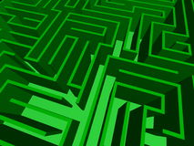 Close-up of the maze Stock Image