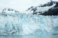 Close-Up of Meares Glacier Royalty Free Stock Photo