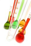 Close up of measuring glass Stock Photos