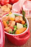 Meat and vegetable Royalty Free Stock Photography