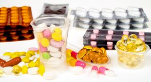Close-up of medicine Royalty Free Stock Photo