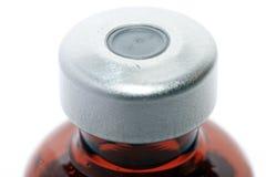 Close-up of medicine bottle Stock Photo