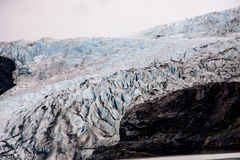 Close up of the Meldenhall glacier Stock Image