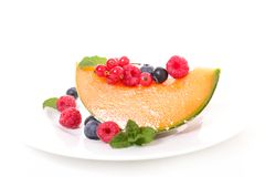 Melon and fruits Royalty Free Stock Photography