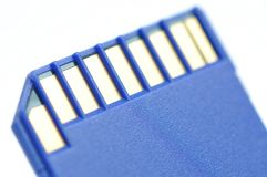 Close-up memory card Royalty Free Stock Photo
