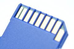 Close-up memory cards Royalty Free Stock Image