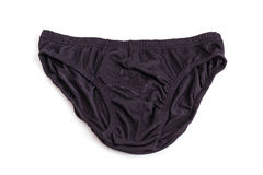 Close up men underwear isolated on white royalty free stock image