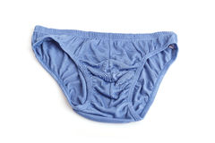 Close up men underwear on white royalty free stock photography