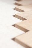 Close-up-mening hout van de voorzijde Royalty-vrije Stock Fotografie