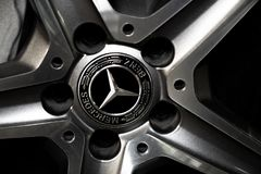 Benz Spoke stock photography