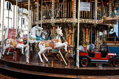 Close-up of a merry-go-around Royalty Free Stock Photography