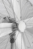 Close-up of metal electric fan Stock Photography