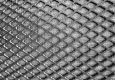 Close Up of Metal Grid Texture Background Stock Image