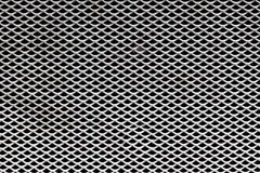 Close Up of Metal Grid Texture Background Royalty Free Stock Images