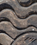 Close-up of the metal manhole cover in the sunshine. Stock Photos