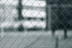 Close-up metal mesh fence for background. Mystical photo royalty free stock image