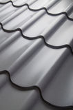 Close up of metal roof tile Stock Photography