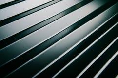 Close up of metal roof tile Stock Photos
