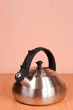 Close up of  metallic kettle Stock Image
