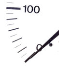 Close up of meter measuring Royalty Free Stock Photos